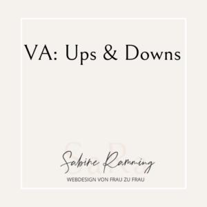 VA: Ups & Downs