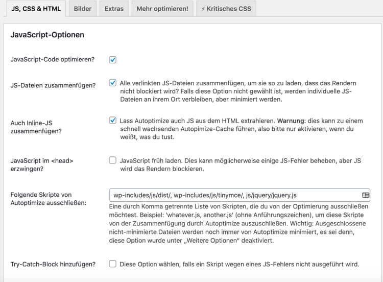 Need more Pagespeed - 7 Tipps für Dein WordPress-Tuning 2