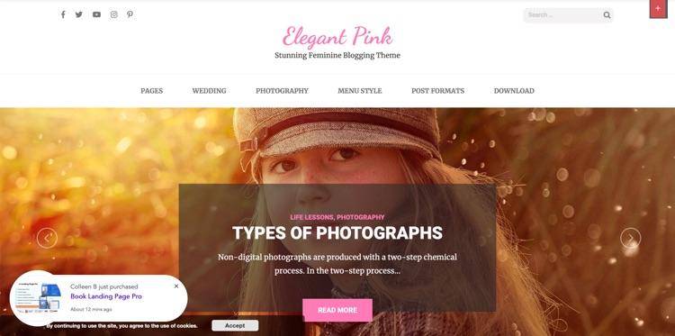 10 + Feminine Wordpress Themes für Unternehmerinnen 15